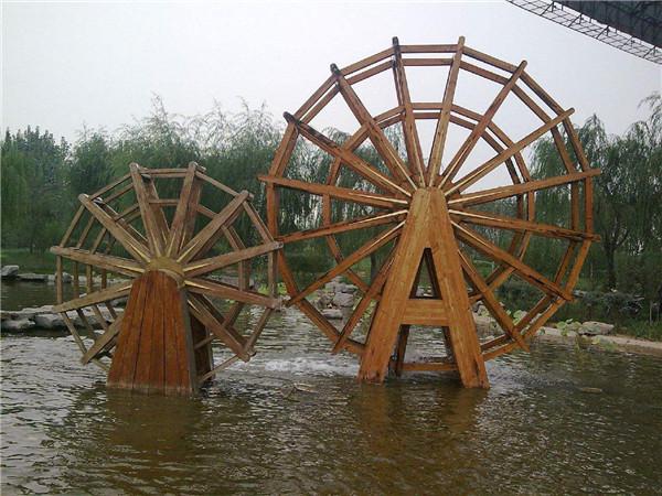 宁夏防腐景观水车